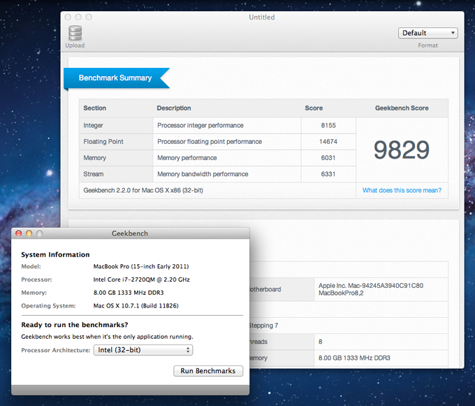 Post Macos Os X Geekbench Benchmarks